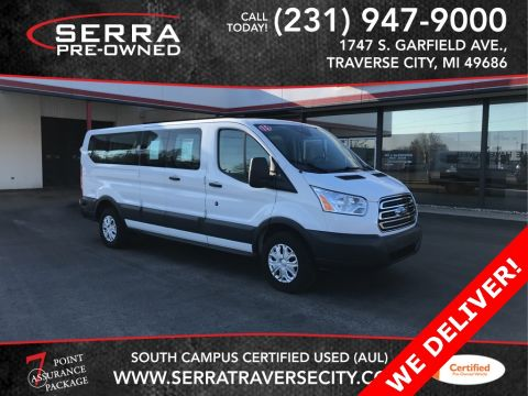 Pre-Owned 2015 Ford Transit-350 XLT RWD 3D Low Roof Wagon