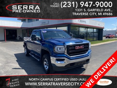 Pre-Owned 2016 GMC Sierra 1500 Base 4WD Extended Cab