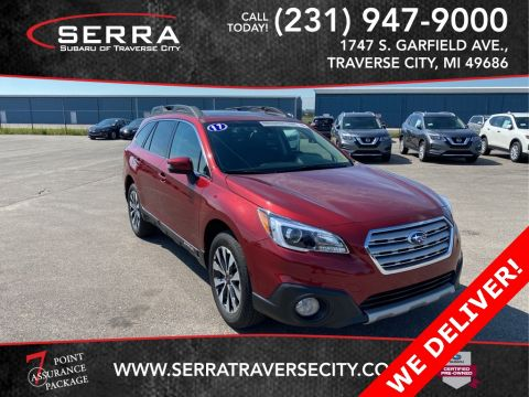 Certified Pre-Owned 2017 Subaru Outback 2.5i AWD 4D Sport Utility