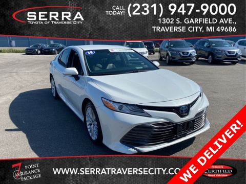 Certified Pre-Owned 2018 Toyota Camry Hybrid XLE FWD 4D Sedan