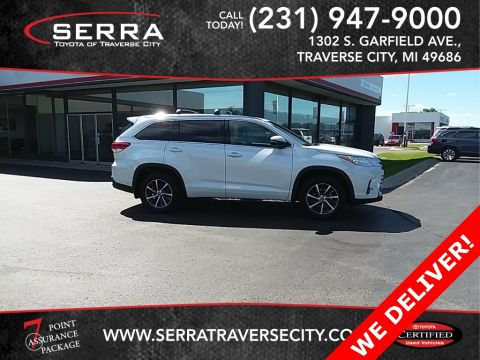 Certified Pre-Owned 2017 Toyota Highlander XLE AWD 4D Sport Utility